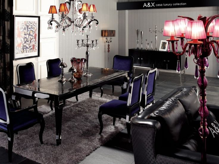 This Armani Xavira Transitional Lacquer Table Has A Top With Unique Design Pattern Complementing Its Style