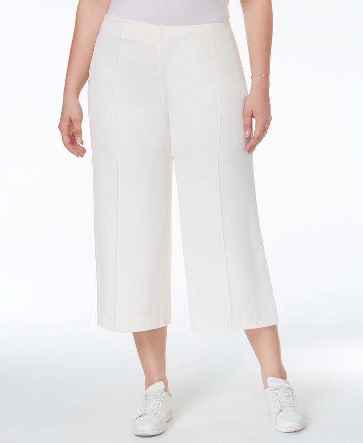 Rachel Rachel Roy Curvy Plus Size Culotte Pants