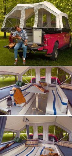 Truck Tent – Great Idea