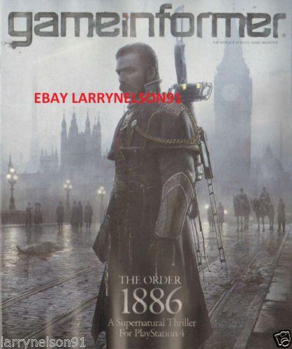 GAMEINFORMER NOVEMBER 2013 ORDER 1886 BATTLEFIELD 4 LEGEND OF ZELDA NBA LEGO NEW