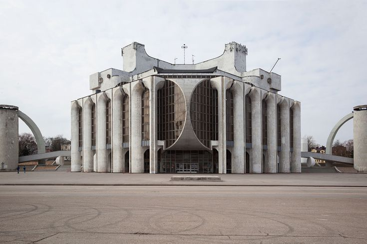 Stage beauty: celebrating the magnificent brutalism of Veliky Novgorod's drama theatre — The Calvert Journal