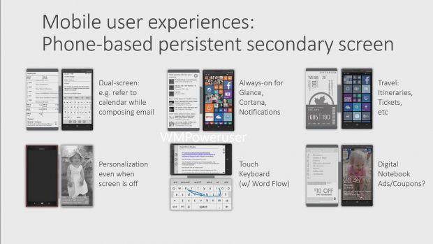 Report : Microsoft Working on Secondary Display for Devices