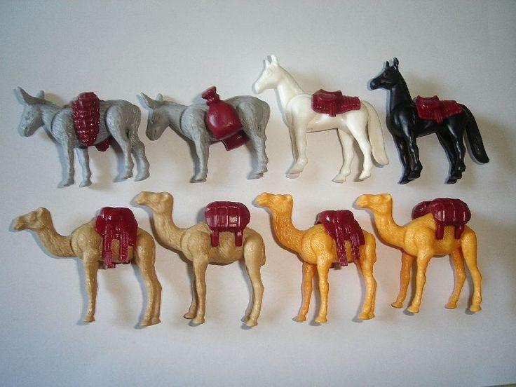 Kinder Surprise Set Mounts Pack Animals 1997 Lego Style Toys Figures | eBay