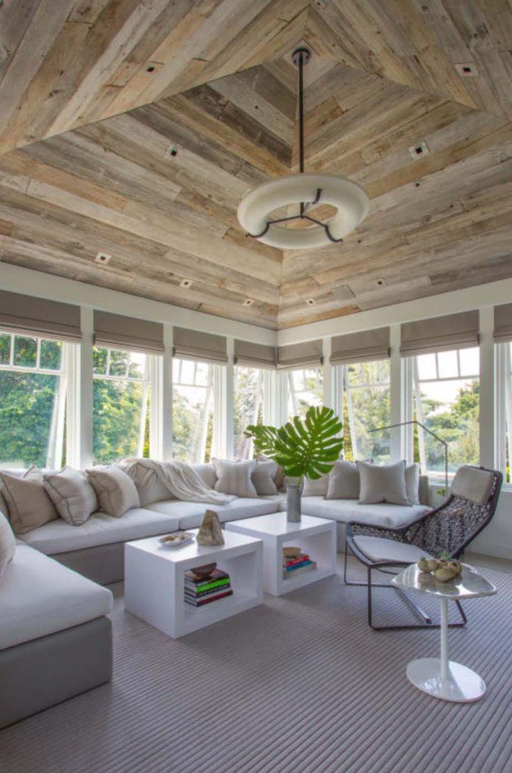 Awning windows bedroom - Coastal Chic Shingle Style Gambrel Home In Sunny Florida