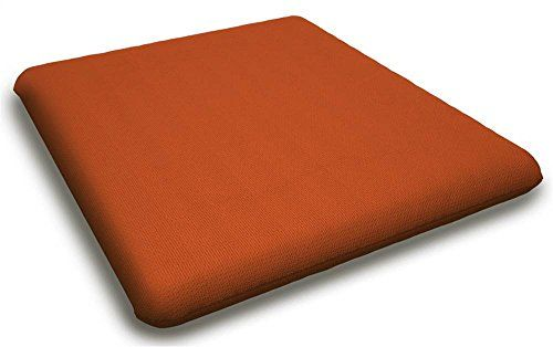 Contemporary Seat Cushion in Canvas Tuscan -- Check out this .