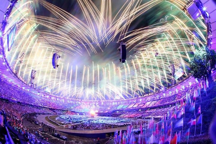 27 July 2012, the Olympics opening ceremony