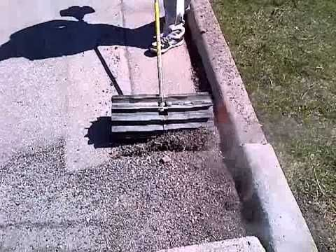 There's Nothing Quite as Satisfying as Watching a Power Broom at Work