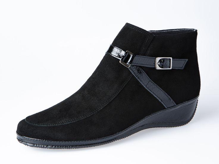 BOTÍN CORREA HEBILLA | Spiffy - Zapatos de señora muy cómodos. #spiffy #hechoenespaña #madeinspain #calzado