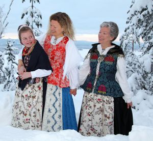 Ny, rekonstruert kvinnebunad fra Ringerike - Magasinet Bunad