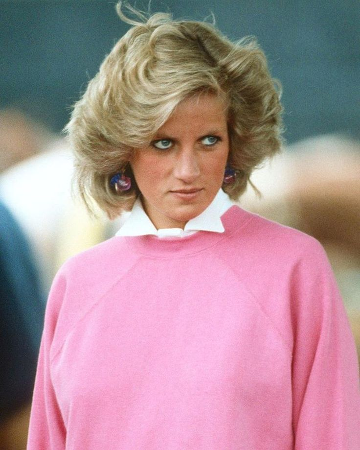 28 June 1984: Pregnant with Prince Harry, Princess Diana attends a polo match in Cirencester.