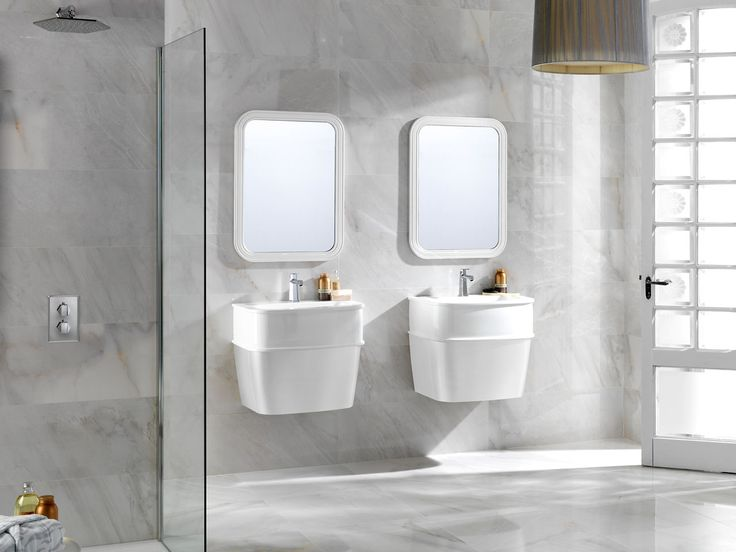 Porcelanosa Grupo Showcases A Wide Range Of Bathroom Furniture From Classic To Minimalist Style Vanity Units And Bathroom Cabinets
