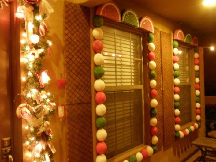 Outdoor Gingerbread Christmas Decorations   Ecteli Home Designs