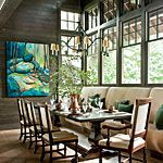 View All Photos < 62 Stylish Dining Room Decorating Ideas - Southern Living