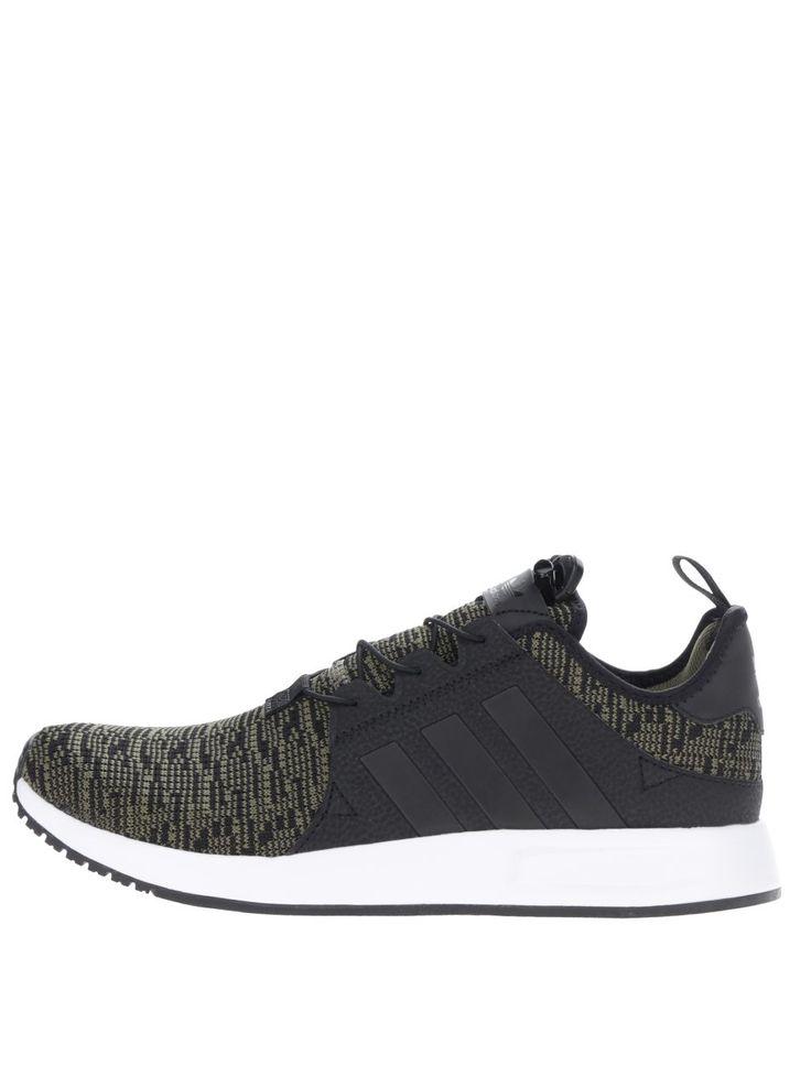 Černo-zelené žíhané pánské tenisky adidas Originals X_ PLR 3199 Kč   moje-tenisky.cz