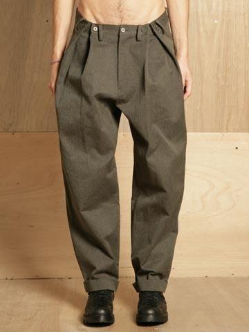 Yohji Yamamoto Men's Wide Fold Pants