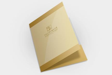 Custom Presentation Folder | Custom Printed Presentation Folders | Pocket Folder Designs