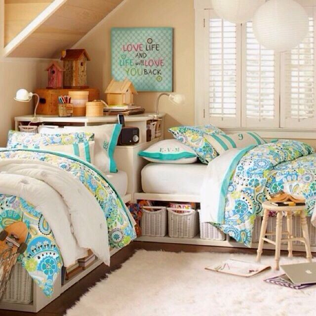 Shared Bedroom Ideas For Adults: 54 Best Bedroom Ideas For My Girls Images On Pinterest