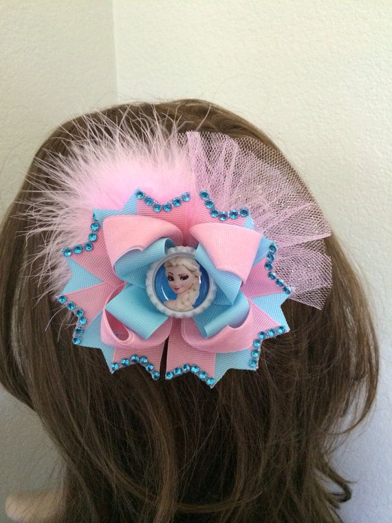 Frozen Hair Bow. Frozen Boutique Hair Bow. by TheJMarieBoutique, $11.99