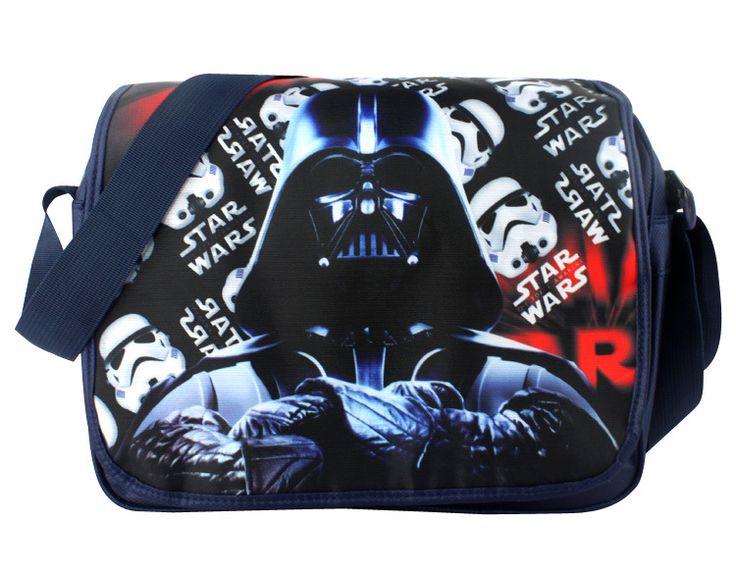 2017 New Cartoon Bag Star Wars Darth Vader Shoulder Bag For Kids Messenger Bag For School Girls Boys Children Birthday Gifts