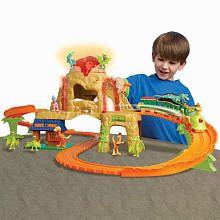 "Dinosaur Train Time Tunnel Mountain Playset - TOMY - Toys ""R"" Us"