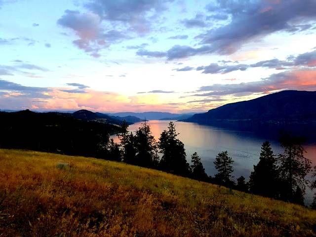 Okanagan Lake from Lake Country – Crystal Weber