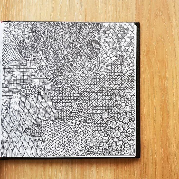 (@_barboring) #illustration #drawing #barboring #doodle #pattern #patterndesign #art #sketch #sketchbook