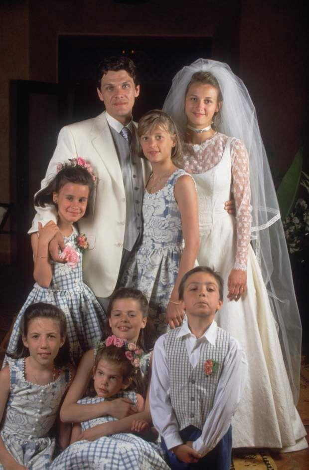 Divorce De Marc Lavoine Les Photos De Son Mariage Avec Sarah Poniatowski Mariage Robe Demoiselle D Honneur Pinterest Mariage