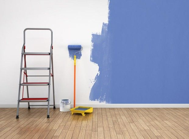 pintar-a-casa-parede-tinta (Foto: Thinkstock)