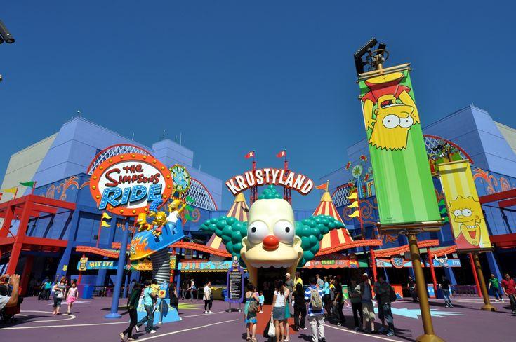 The Simpsons Ride. Universal Studios Florida