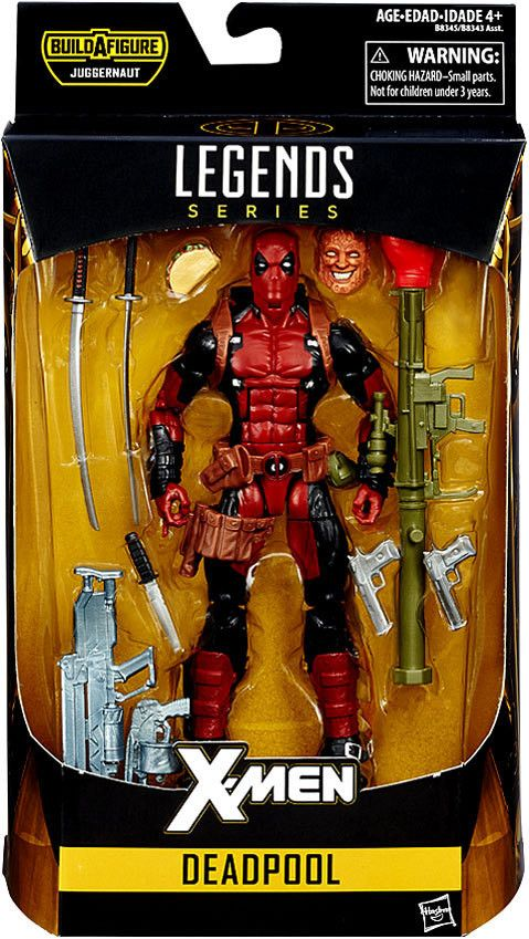 Deadpool X-Men Marvel Legends 6-Inch Action Figure Build-a-Figure Juggernaut Series Pre-Order