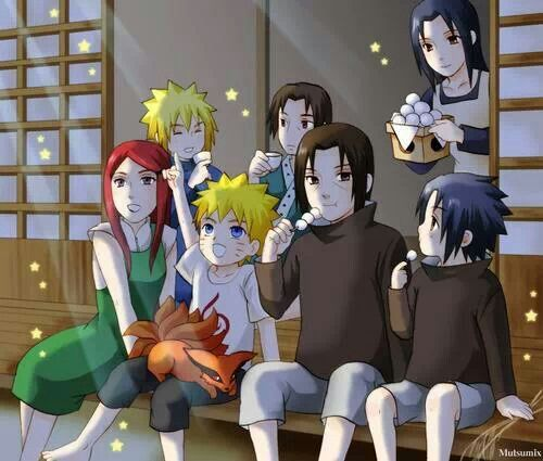 What if the Uzumaki clan and the Uchiha clan had been best ...