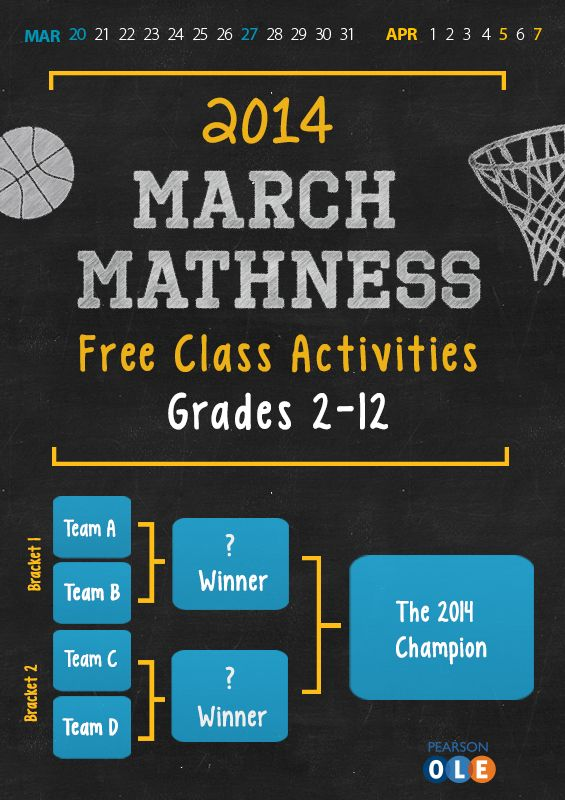 Free K12 Math Worksheets for March Madness Womens AND Mens – K-12 Math Worksheets