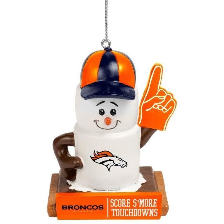 Denver Broncos 2016 NFL Smores Ornament