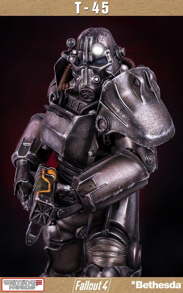 Fallout 4: T-45 Power Armor 1/4 Scale Statue (Pre-Order)