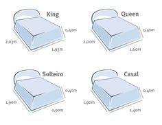 25 melhores ideias de medidas de cama queen no pinterest for Medidas cama king y super king