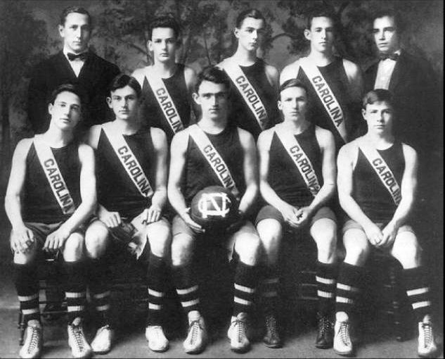 COLLEGE BASKETBALL: 1910-1911 University of North Carolina team. The 1910–11 men's basketball team was the college's first squad.