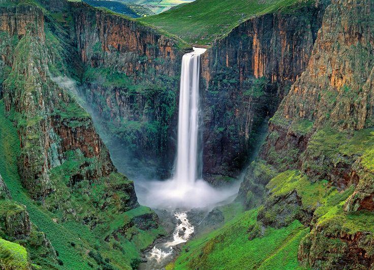 Maletsunyane Falls, Lesotho http://www.flickr.com/photos/leksele/6533357005/in/photostream