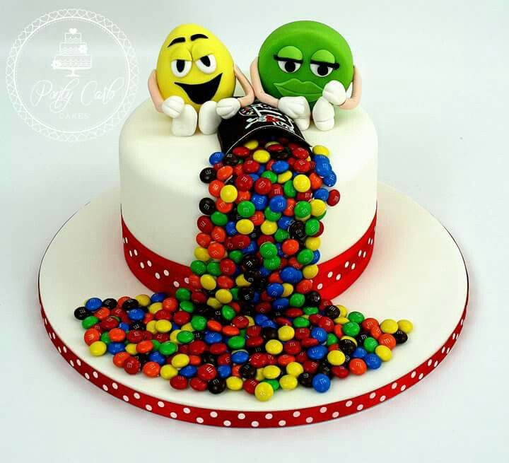 17 Best images about M&Ms Cakes on Pinterest M m cake ...