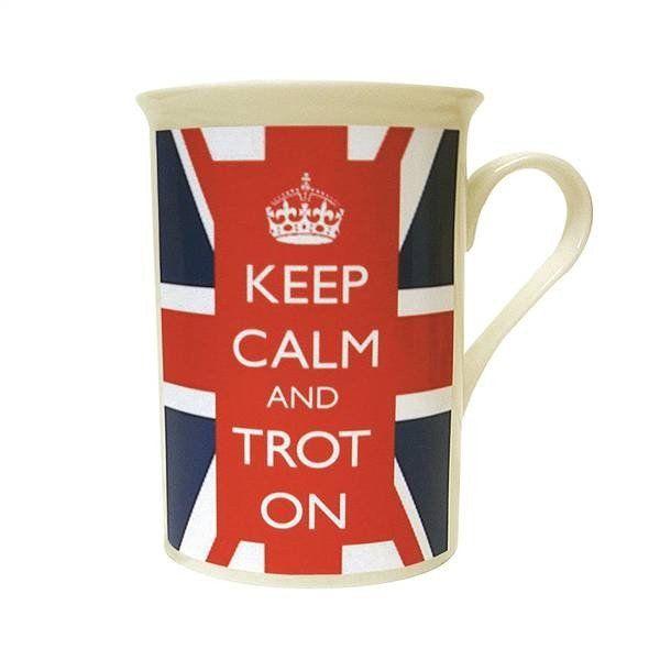 """""""Keep Calm and Trot On"""" Mug"""