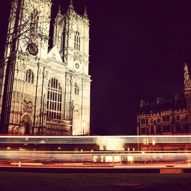 Westminster Abbey, shutter speed