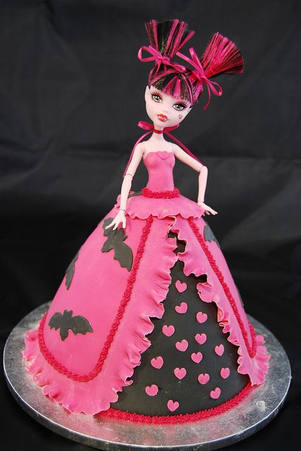 I think I'm going to do something like this for my niece's birthday... the girl loves Monster High.