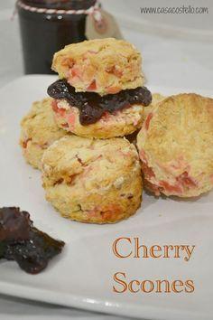 Easy Cherry Scones