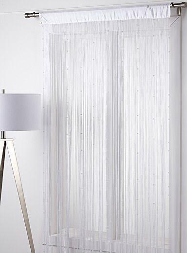 18 best images about rideaux curtains on pinterest dark - Rideau de salon ...