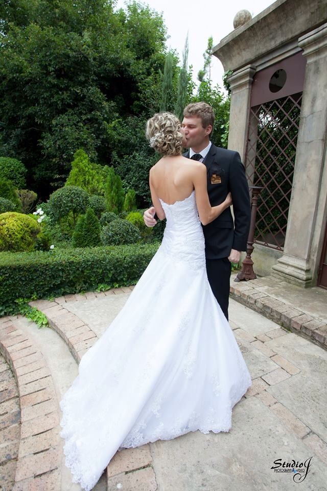 Amelia dress by Lubellos Bridal - thank you for being so beautiful Landi
