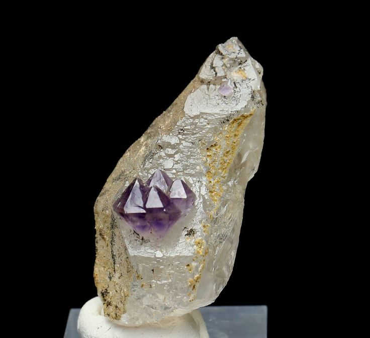 55.4g New found beautiful Amethyst skeletal crystal Mineral Specimens
