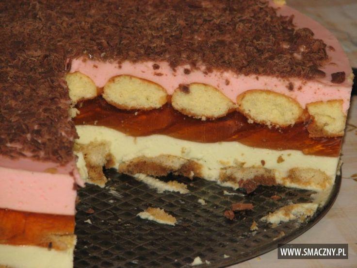 Hmm... zapowiada się słodki weekend. Cudne ciacho, bez pieczenia - polecam:  http://www.smaczny.pl/przepis,biszkopcikowiec_na_zimno  #przepisy #ciasta #biszkopty #ciastonazimno #ciastobezpieczenia #kawa #rum #śmietanka #galaretka #serek #serekwaniliowy #czekolada #lato #ciastonalato #warstwoweciasto