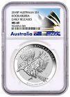 ❤Ω 2018-P Australia #1 oz Silver #Kookaburra $#1 Coin NGC MS69 ER Excl Label... Best http://ebay.to/2yyiT3j