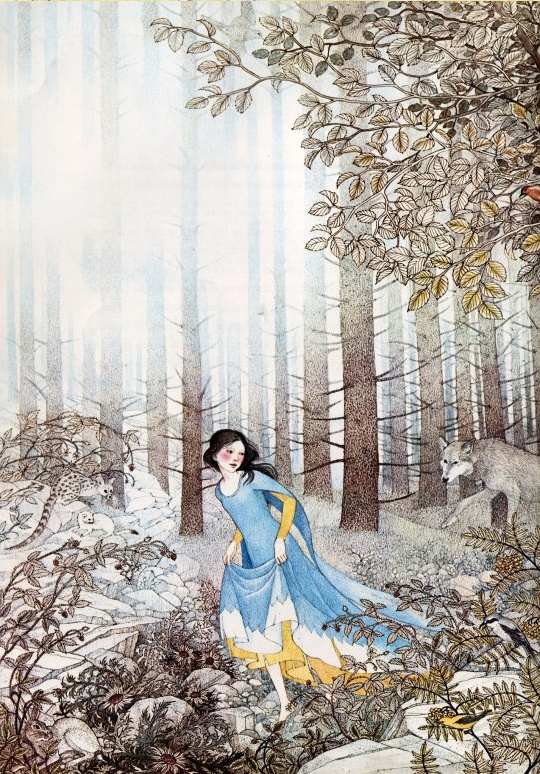 Snow White by Nancy Ekholm Burkert.