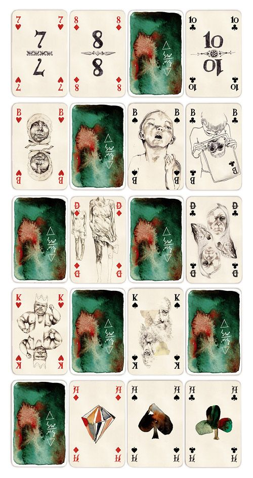 Black card card flip jack king poker pong strip vegas — img 2