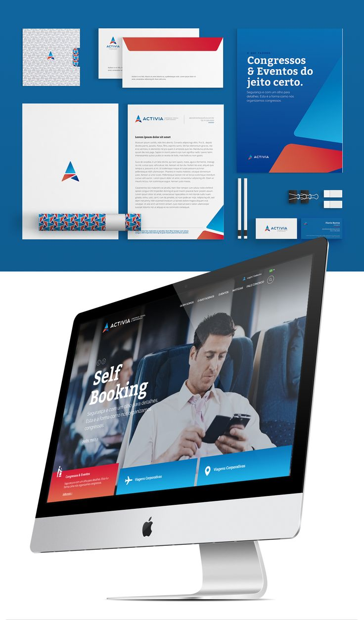 Identidade Corporativa e Interface Digital da Activia on Behance